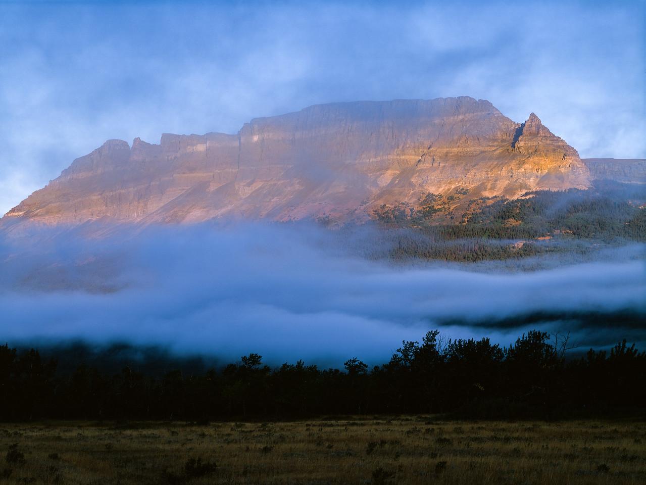 Rocky Mountains, Glacier National Park, Montana, 1996