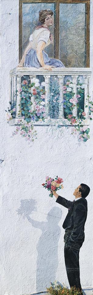 Mural, Los Altos, California, 1995