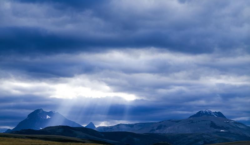 Rocky Mountains, Glacier County, Montana, 1996
