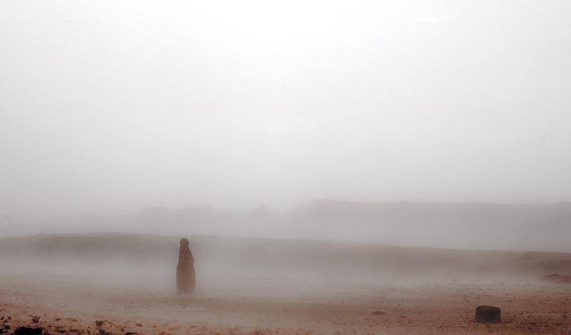Dust Storm, Highway 24 East of Hanksville, Utah, 2000