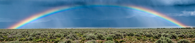 Rainbow 1, Highway 21 West of Milford, Utah, 2000