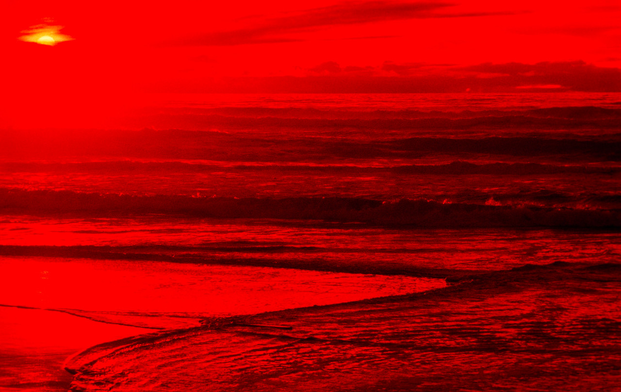 Sunset 1, San Gregorio State Beach, California, 1978
