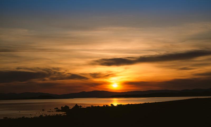 Sunrise, Mono Lake, California, 1995
