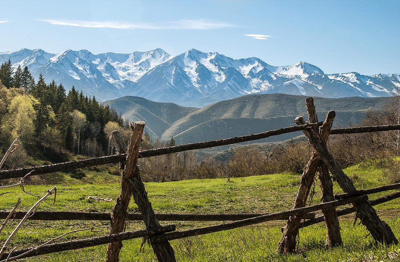 Wasatch Mountains, Hobble Creek-Diamond Fork Loop East of Springville, Utah, 2000