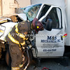 W Babylon Van vs Tractor Trailer-11