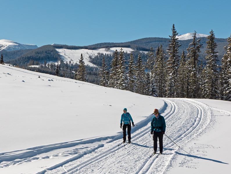 Mountain View- spot the powder skiing tracks?