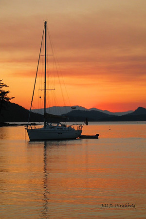 24 Sunset Sail Published Pacific Yachting Magazie