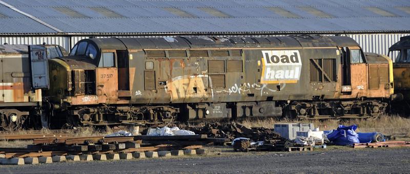 37517, Carnforth, Tues 19 February 2013.