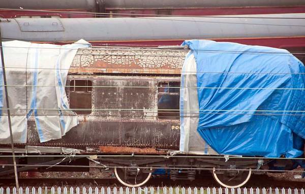 GWR royal saloon 9006, Carnforth Steamtown, 20 February 2013 2.