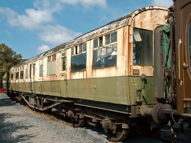 LNER engineer's saloon No 1998 Loch Eil, Carnforth Steamtown, 26 July 2008 1.  Built at Doncaster in 1936.  Reported still at Carnforth in 2017.