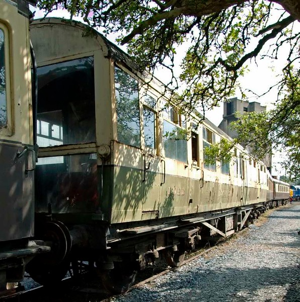 LNER engineer's saloon No 1998 Loch Eil, Carnforth Steamtown, 26 July 2008 2.