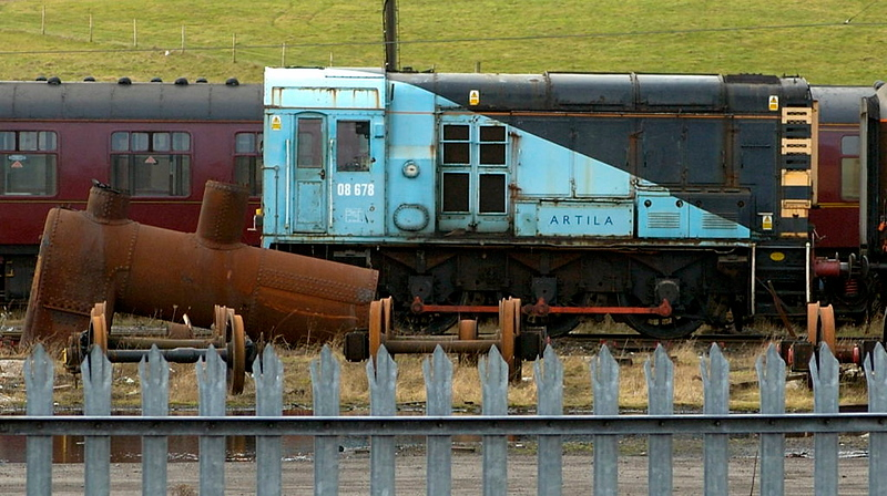 08678 Artila, Carnforth, 15 February 2006.  Had worked at Glaxo Ulverston before WCRC bought it in 2001.