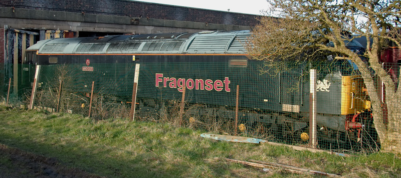47355 Avocet, Carnforth, 30 March 2008 1.  47355 has been for sale by Fragonset's administrators at an asking price of £65,000 since it came to Steamtown for storage on 3 April 2007, but there have been no takers.