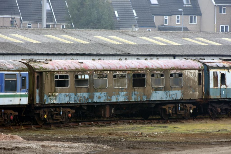 Pullman 316 Magpie, Steamtown, Carnforth, 28 February 2019.  Finished as departmental DB 975608.