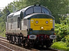 37197, Carnforth,  Thurs 2 September 2004 - 1318.  The 37 arrives from Tyseley,  WCRC had bought it and 37261 on 8 May 2004.