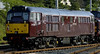 37261 Loch Arkaig & 31190 Gryphon, Carnforth, Tues 7 June 2005 - 1846 2.  I think WCRC had hired 31190 from Fragonset.