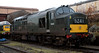 37261, Tyseley, Sun 5 December 2004.  It had been shadowing 3440 City of Truro on a special chartered by the Strategic Rail Authority to mark the centenary of City of Truro's 100mph exploit in 1904.  D9016 Gordon Highlander is behind.