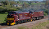 37214 Loch Laidon & 47854, Holme, Fri 5 May 2006.- 1641.  A Carnforth - Bo'ness move for Royal Scotsman duties.  NB that 37214 has taken the Loch Laidon name previously carried by 37197.