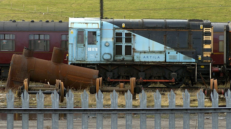 08678 Artila, Carnforth,, Wed 15 February 2006.  Had worked at Glaxo Ulverston before WCRC bought it in 2001.