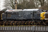 37188, Carnforth, Fri 6 January 2006.  It and 37152 were in transit from Scotland(?) to preservation at Peak Rail,