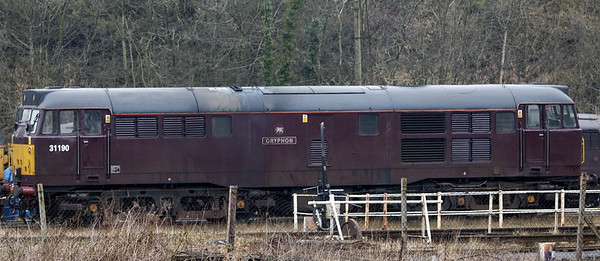 31190 Gryphon, Carnforth, Fri 6 January 2006.