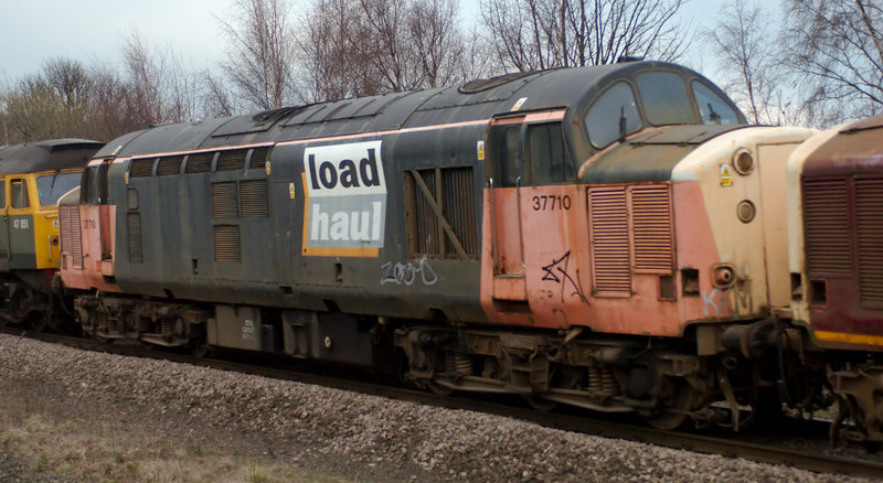 47804, 37668, 37712, 37710 & 47851 Traction Magazine, Mirfield, 28 January 2008 - 1520 4