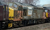 57601, 37517 & 47245, 0Z57, Mirfield, 28 January 2008 - 1412 3