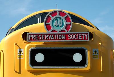 West Coast Railways (WCRC), 2008 open days: Diesels