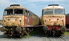 47489 & 47526, Carnforth, 27 July 2008