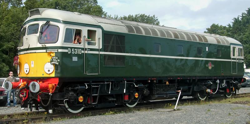 D5310, Carnforth, 27 July 2008