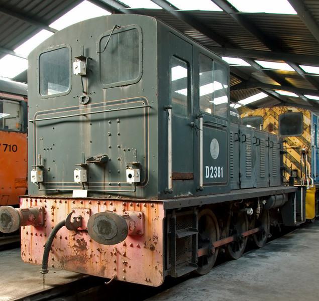 D2381, Carnforth, 26 July 2008