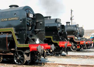 West Coast Railways (WCRC), 2008 open days: Steam