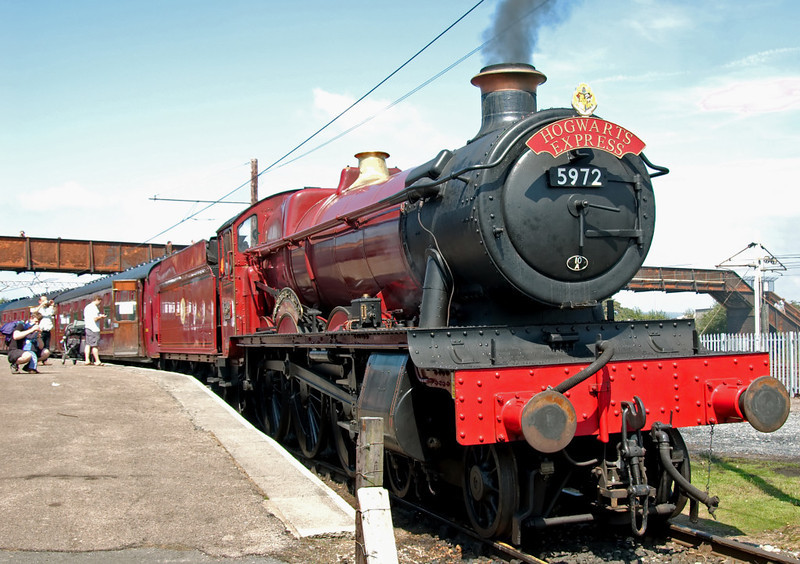 5972 'Hogwarts Castle', Carnforth, 26 July 2008 1