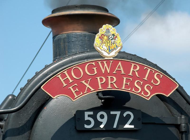 5972 'Hogwarts Castle', Carnforth, 26 July 2008 2