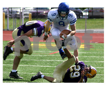 west scranton, football, scranton prep, 2007
