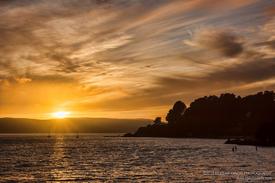 Tomales Bay Sunset June