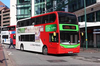 Bus Operators in the West Midlands (UPDATE 24.08.2016)