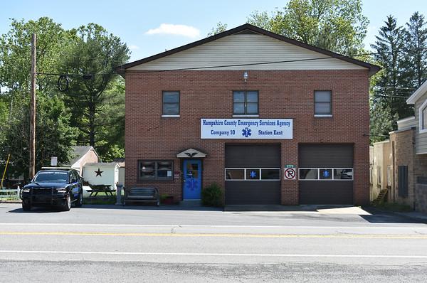 Hampshire County, West Virginia Emergency Services station 10 in Capon Bridge, West Virginia.  Old Capon Bridge Volunteer Rescue Squad.