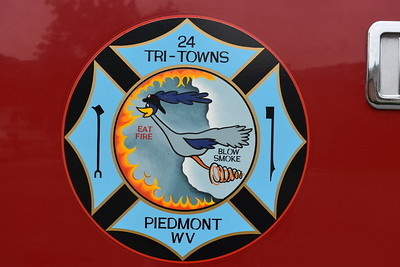 The Tri - Towns Fire Company in Piedmont, West Virginia (Mineral County).    Tri - Towns includes Piedmont, WV, Westernport, Maryland, and Luke, Maryland.