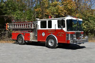 Piedmont, West VA Engine 24-11 in Mineral County - a 1991 HME 1871/Grumman Panther II.  1000/1000.  Grumman serial number 18543.