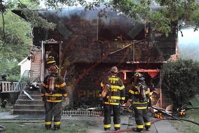 Westbury F.D. Working Fire A/F 244 Siegel St. 7/3/11