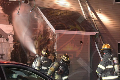 Westbury F.D.  Working Fire  Broadway  2/9/20