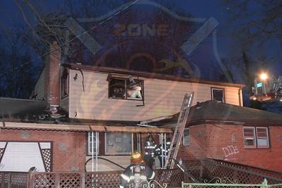 Westbury F.D. Working Fire    Caterine St. 3/18/18