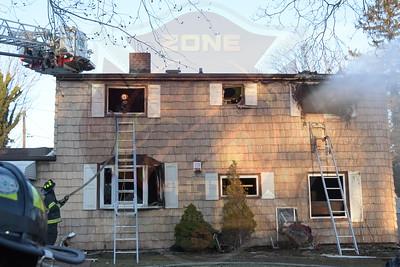 Westbury F.D. Working Fire   Cypress Ln. 3/19/18