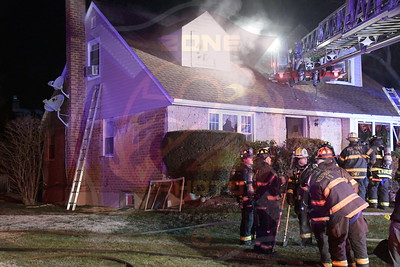 Westbury F.D. Working Fire  Duncan Drive 2/27/20