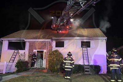 Westbury F.D.   Working Fire   Madison St. 7/2/20