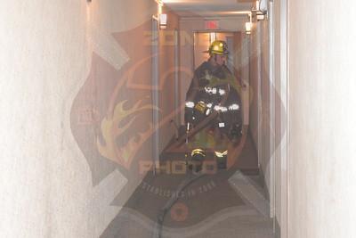 Westbury F.D. Working Fire   Post Ave. 2/20/18