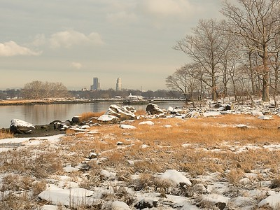 New Rochelle from Two Tree Island