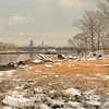 New Rochelle from Two Tree Island, Winter