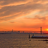 Whitestone Bridge at Sunset